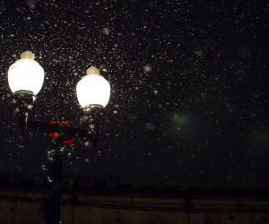 snow light By Hide Obara wallpaper