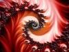 red fractal wallpaper