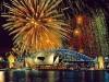 Sydney Harbour New Year's Eve Fireworks, Australia wallpaper